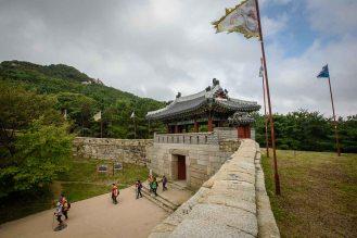 Geumjeong fortress South Gate in Busan Korea