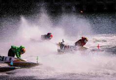 sports photography in japan, kyotei boat race, nagoya