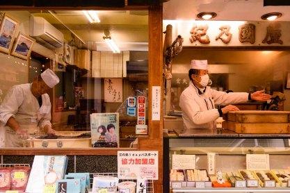 Dango shop on Enoshima Island