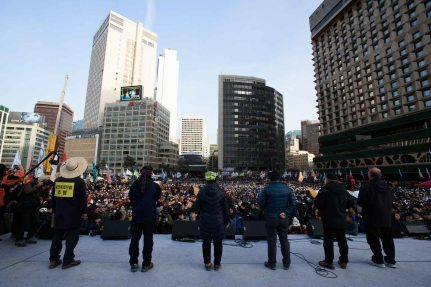 Protests in Seoul
