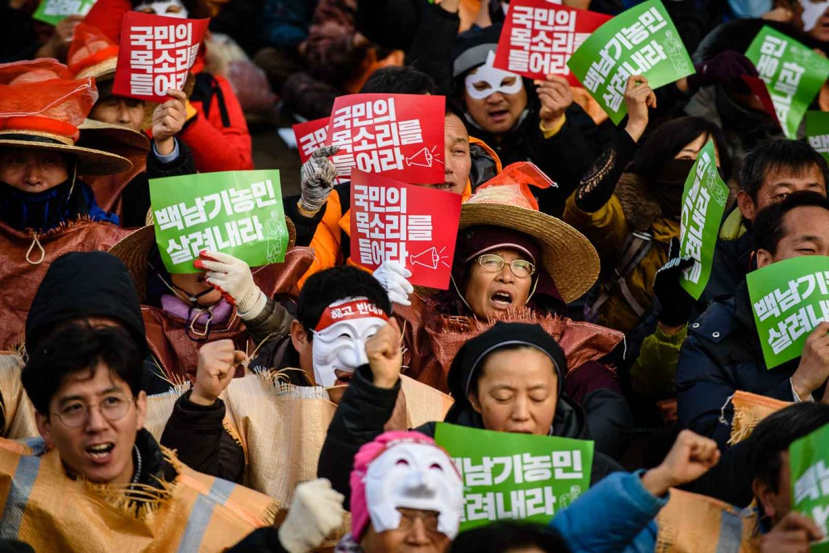 Seoul protests